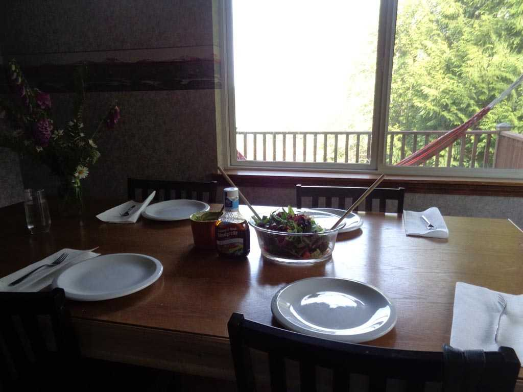 Ranch Holistic Food Table Setting